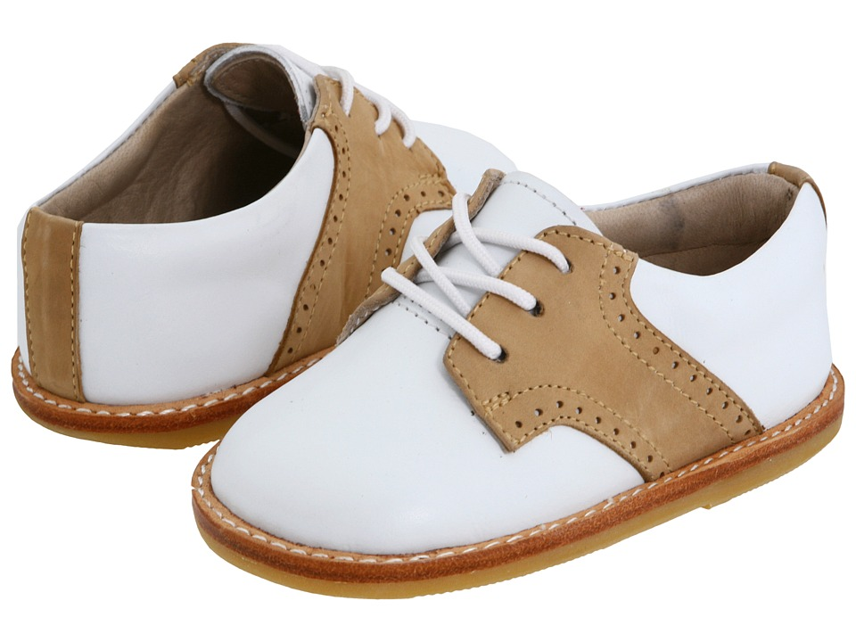 Elephantito Golfers Toddler White/Ivory Boys Shoes
