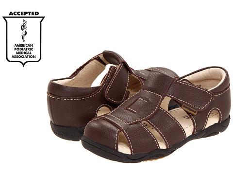 pediped Sydney Flex (Toddler/Little Kid) - Chocolate Brown