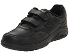 New Balance MW812 Hook and Loop Black Shoes