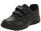 New Balance WW812 Hook and Loop Black Shoes