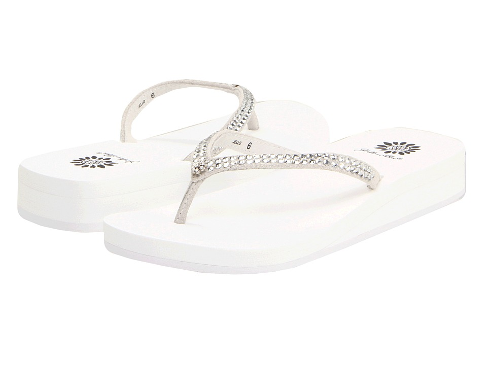 Yellow Box - Jello (White) Womens Sandals
