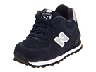 New Balance Kids KL574 Infant, Toddler Navy Shoes