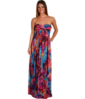 Laundry by Shelli Segal - Spring Sunset Silk Gauze Gown