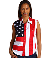 Scully - Sleeveless Patriot Shirt