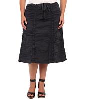 XCVI Plus Size - Plus Size Double Shirred Panel Skirt