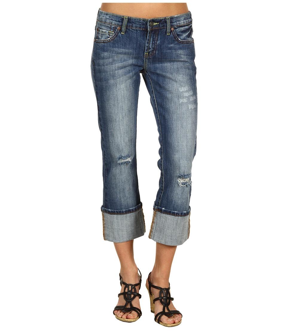 Stetson - Classic Western Cropped Jean (Denim) Womens Jeans