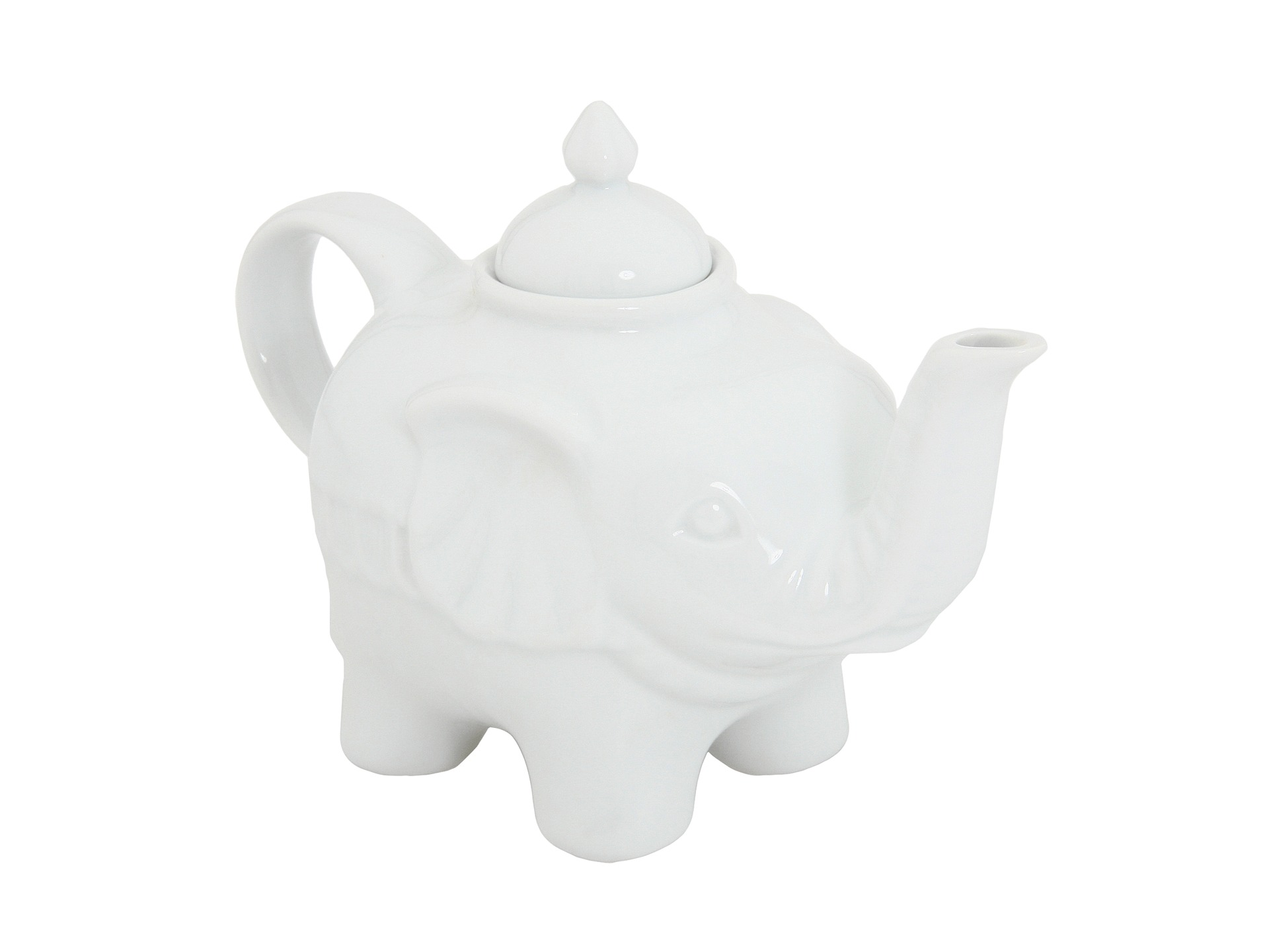 BIA Cordon Bleu - Elephant Tea Pot (White) - Home