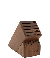 Wusthof - Walnut 17-Slot Knife Block
