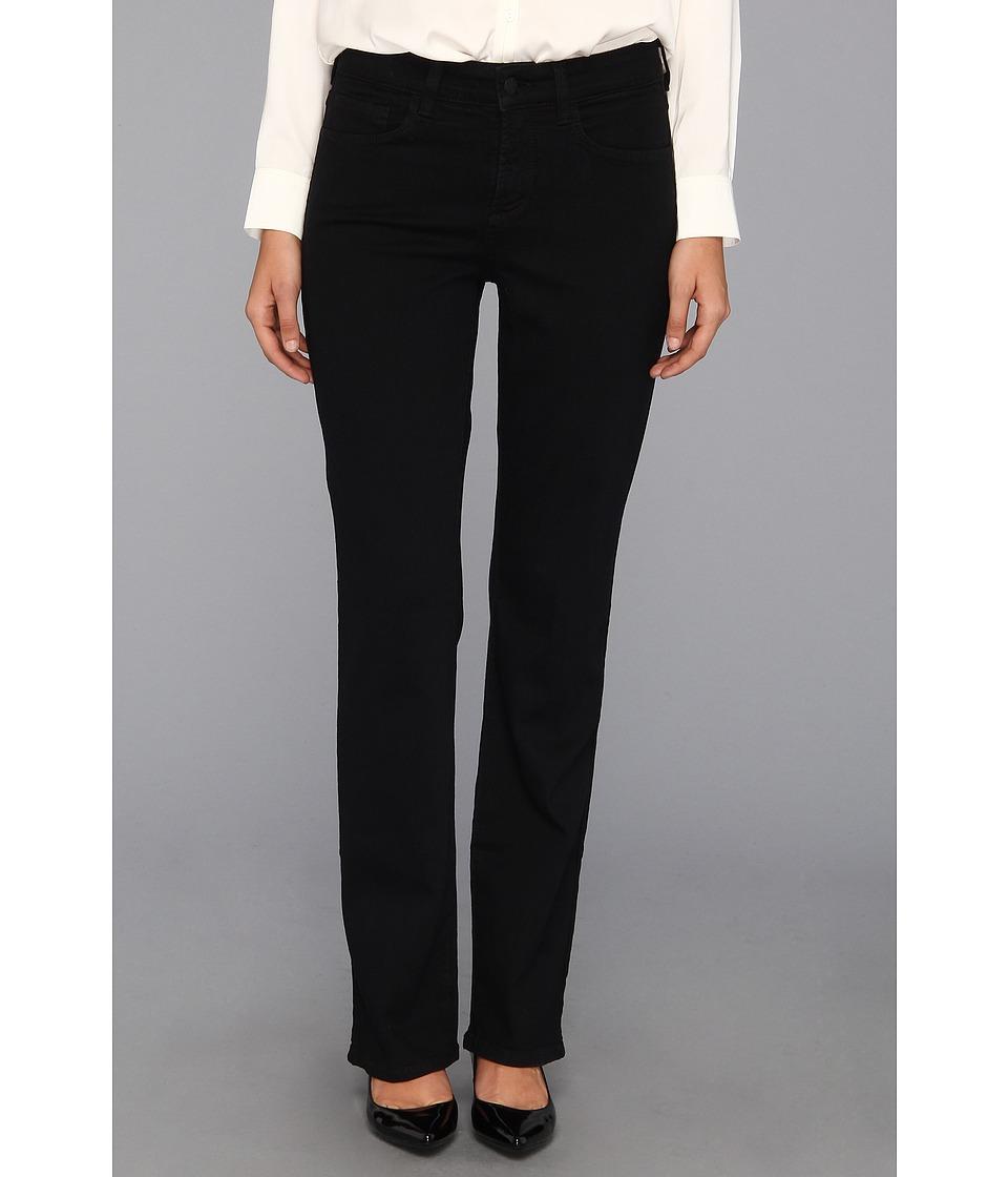 NYDJ - Barbara Bootcut Classic Black Overdye (Black) Womens Jeans
