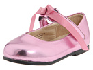 Pazitos - Classic Ballerina MJ PU (Infant/Toddler) (Pink Martini) - Footwear