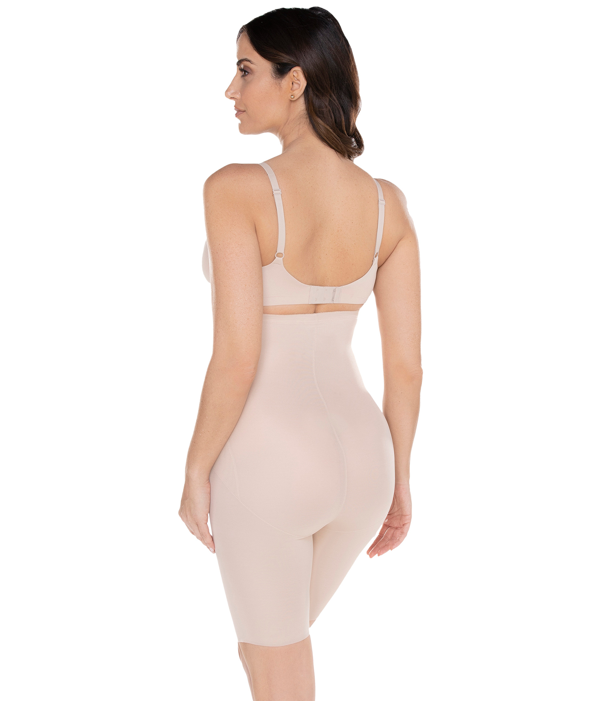 9b226095f0 Miraclesuit Shapewear Extra Firm Shape with an Edge Hi Waist Long Leg Nude