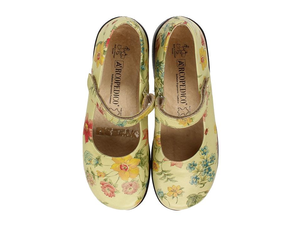 Arcopedico Scala (Flowers Green) Maryjane Shoes