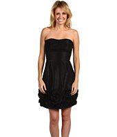 Max and Cleo - Strapless Pleated Taffeta Dress