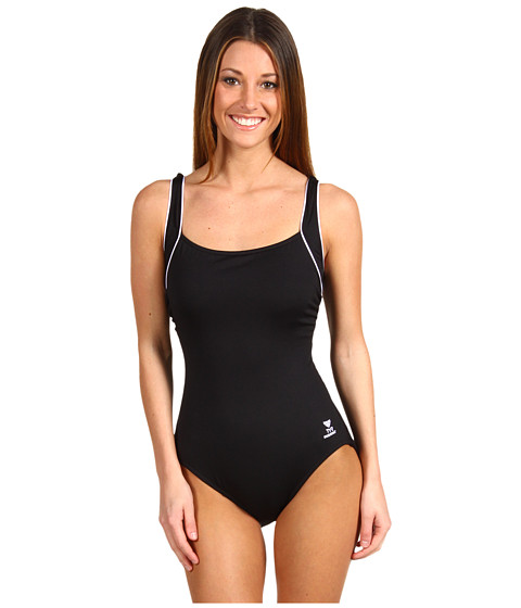 TYR Solid Square Neck Tank Suit