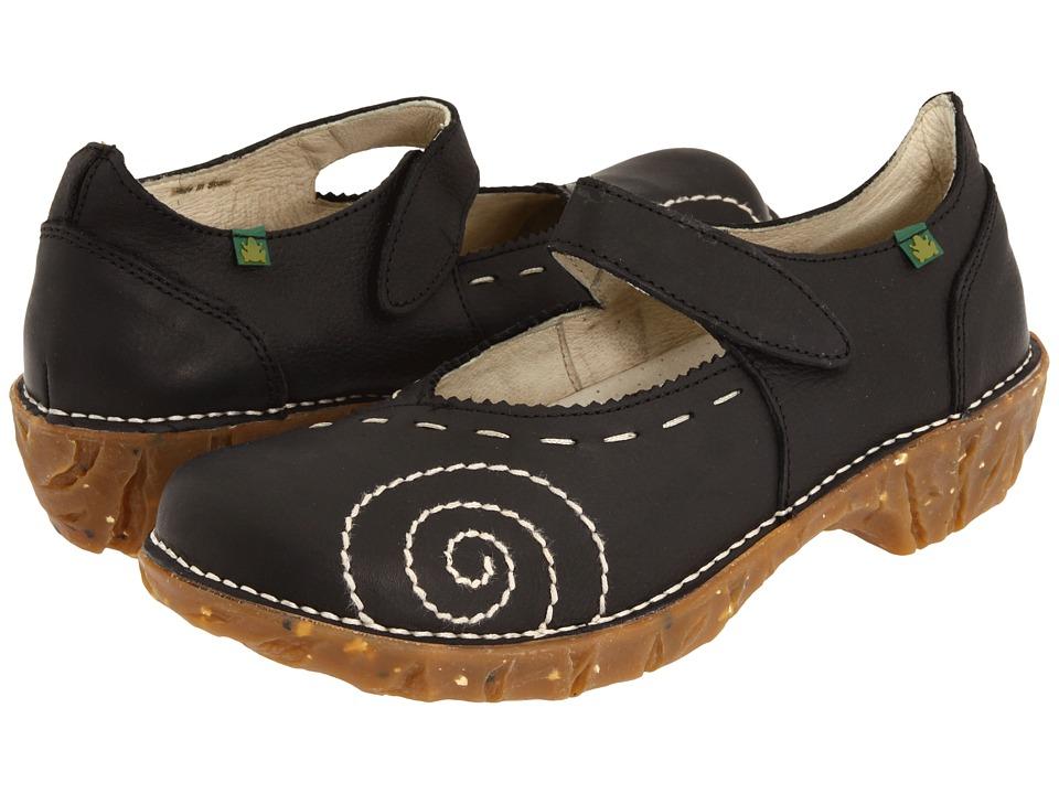 El Naturalista Yggdrasil N095 (Black) Maryjane Shoes