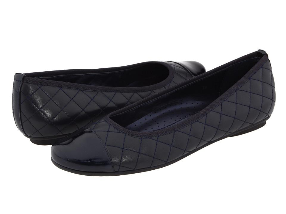 Vaneli Serene (Navy Nappa/Navy Smack Patent) Flats