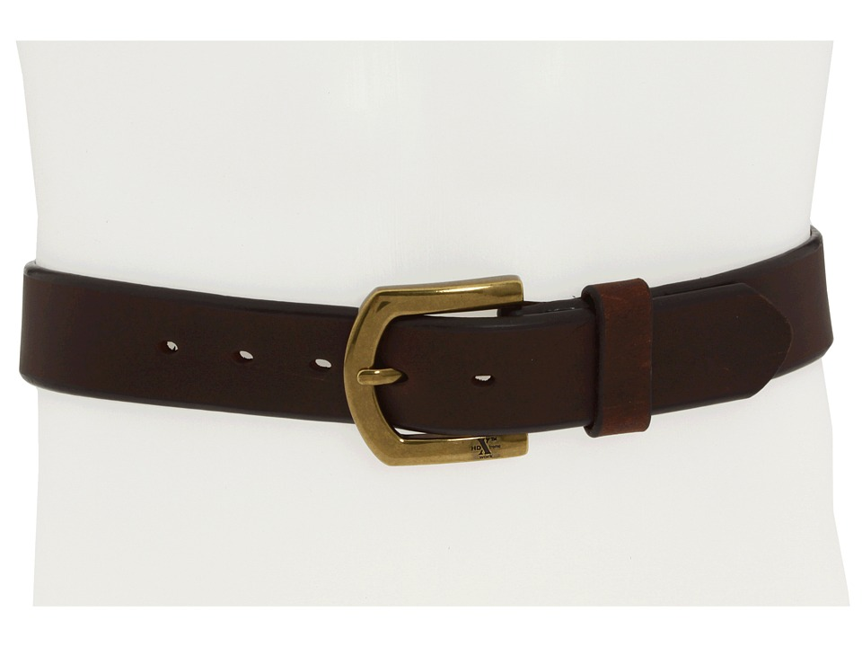 M&F Western - Strap Brass (Brown) Men's Belts