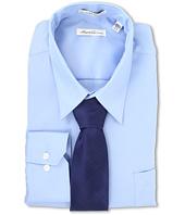 Kenneth Cole New York - Non-Iron Modern Sateen Cotton Shirt