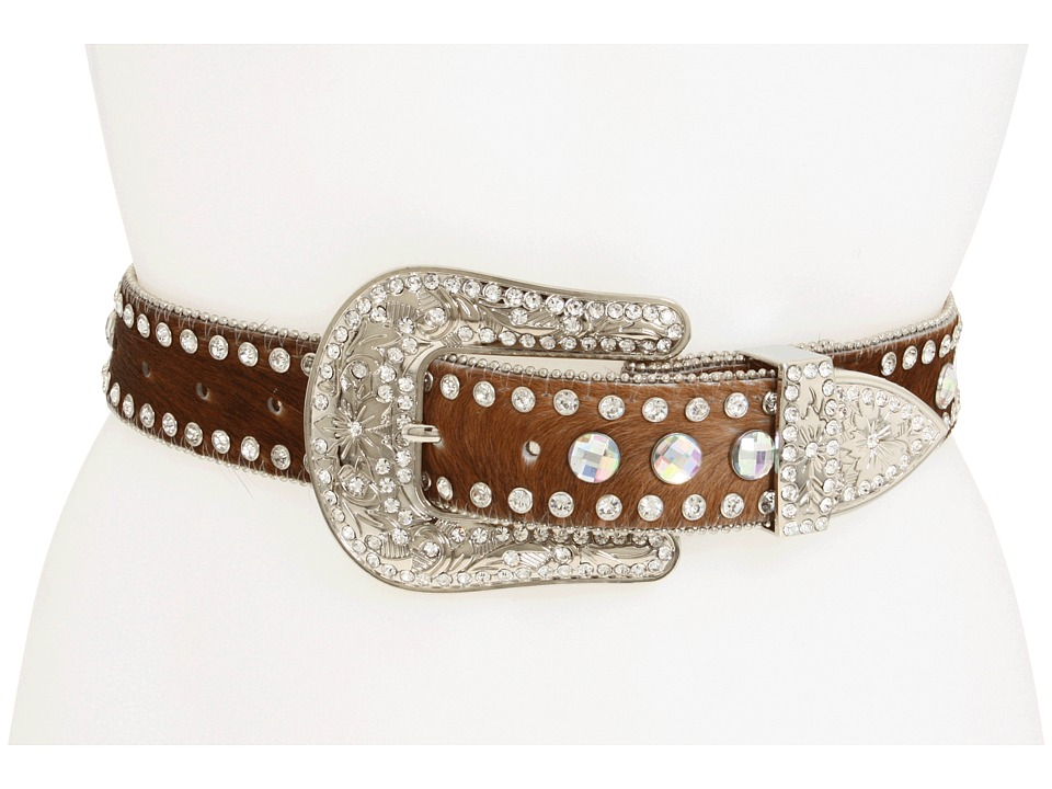 M&F Western - Swirled (Concho Brown) Womens Belts