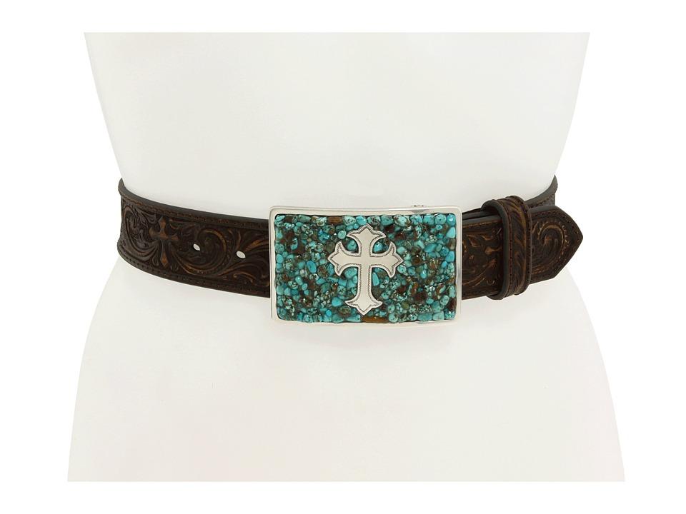 M&F Western - Turquoise Stone Cross