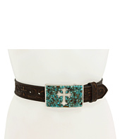 M&F Western - Turquoise Stone Cross