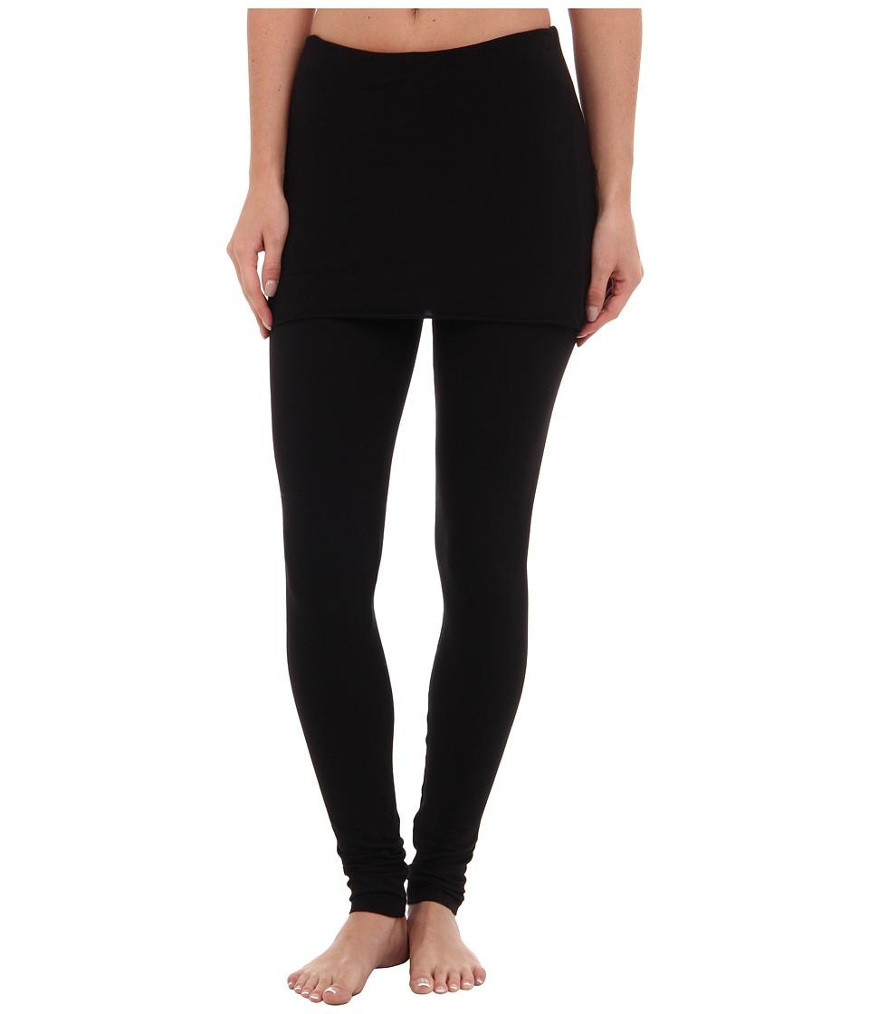 Splendid - Jersey Legging w/ Oversized Foldover Waist