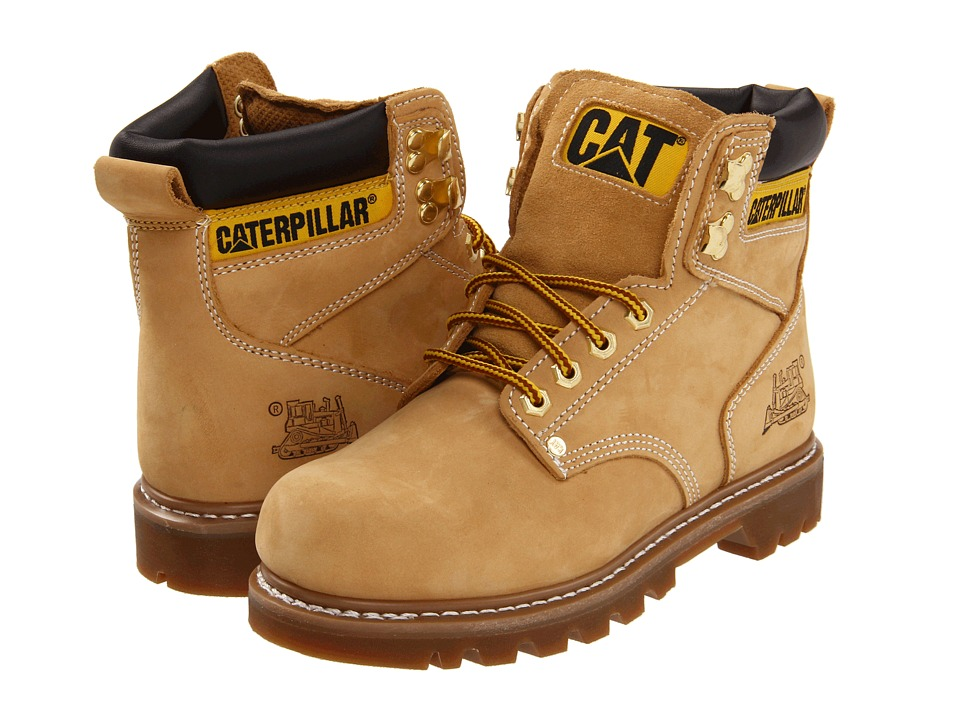 Caterpillar 2nd Shift Honey Mens Work Boots