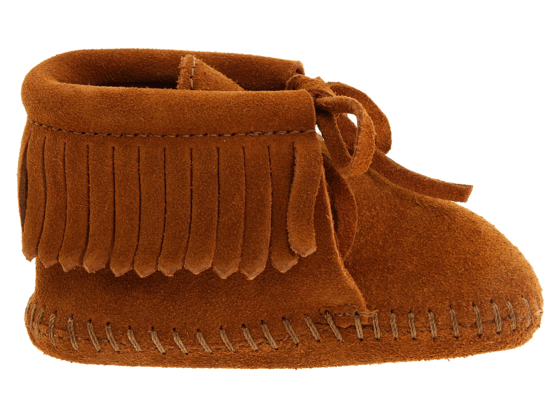 Minnetonka Kids Fringe Bootie (Infant/Toddler) - Zappos.com Free ...