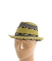 Laundry by Shelli Segal - Striped Fedora Braid