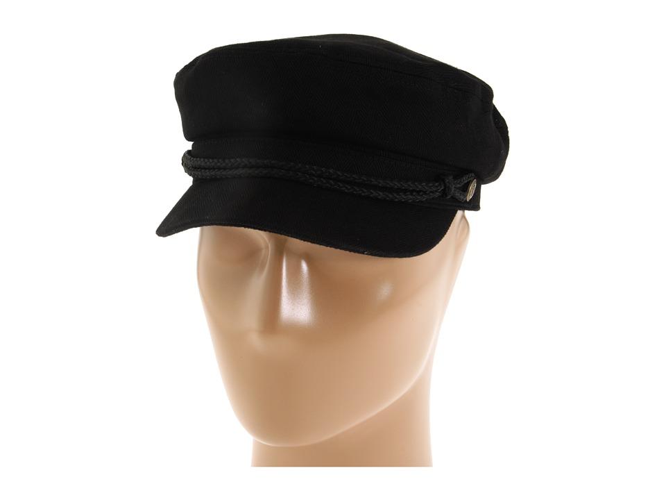 Brixton - Fiddler (Black Herringbone Twill) Traditional Hats