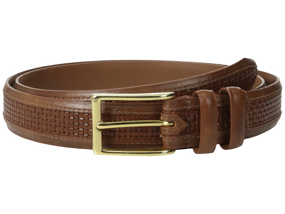 Allen Edmonds - Woven Inlay (Walnut Weave) Mens Belts