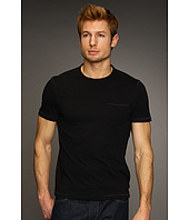 John Varvatos Star U.S.A. - S/S Vertical Pick Stitch Crew