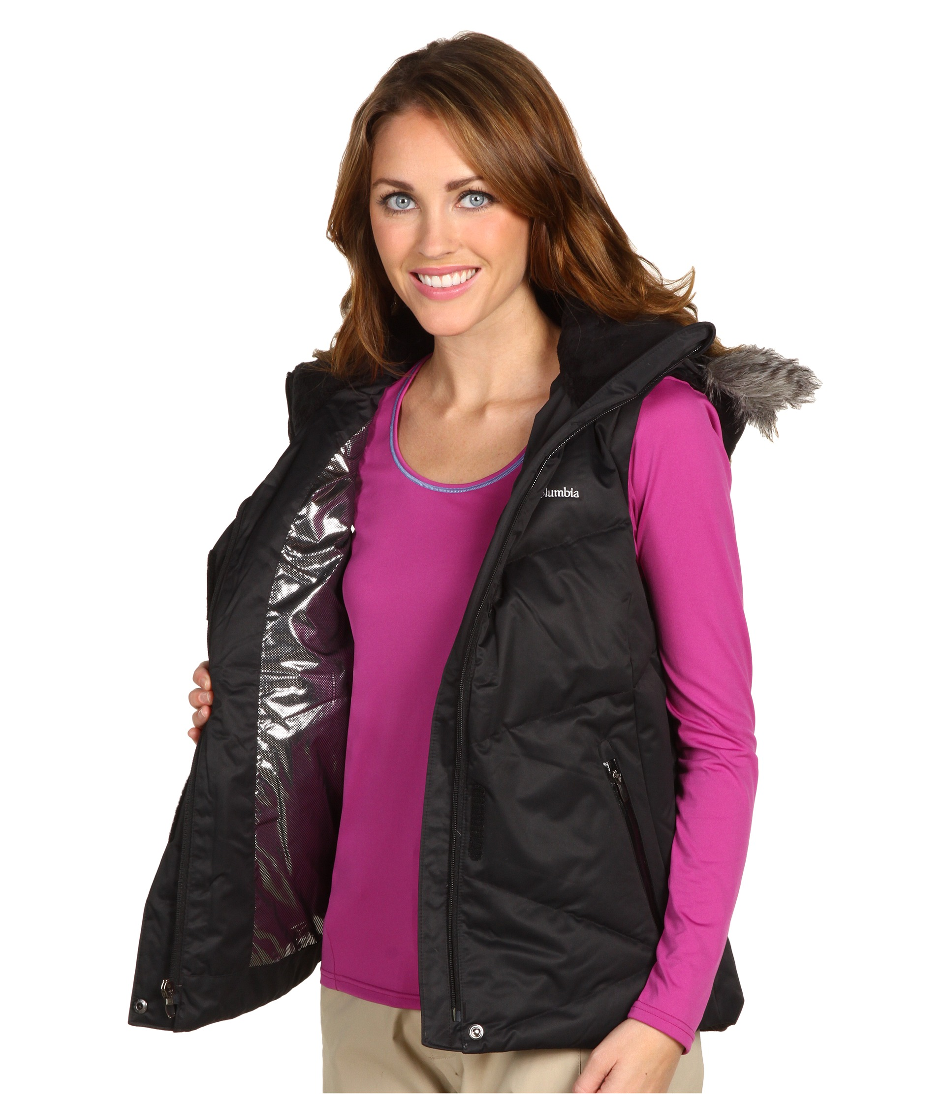 274f3b4292a Columbia Lay D Down Vest on PopScreen
