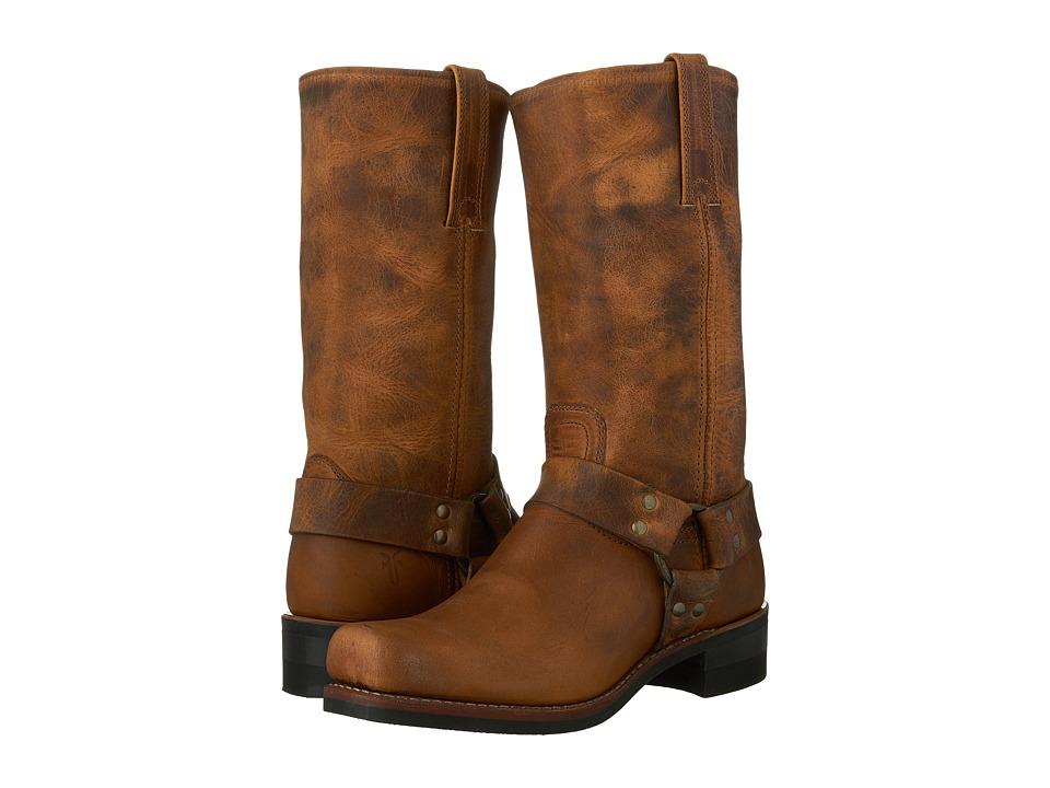 Frye - Harness 12R (Dark Brown) Cowboy Boots