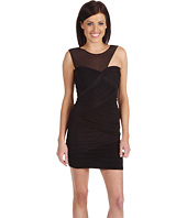 BCBGMAXAZRIA - Slinky Ruched Fitted Cocktail Dress
