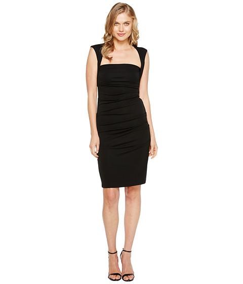 Nicole Miller Sleeveless Jersey Tuck Dress - Zappos.com Free ...