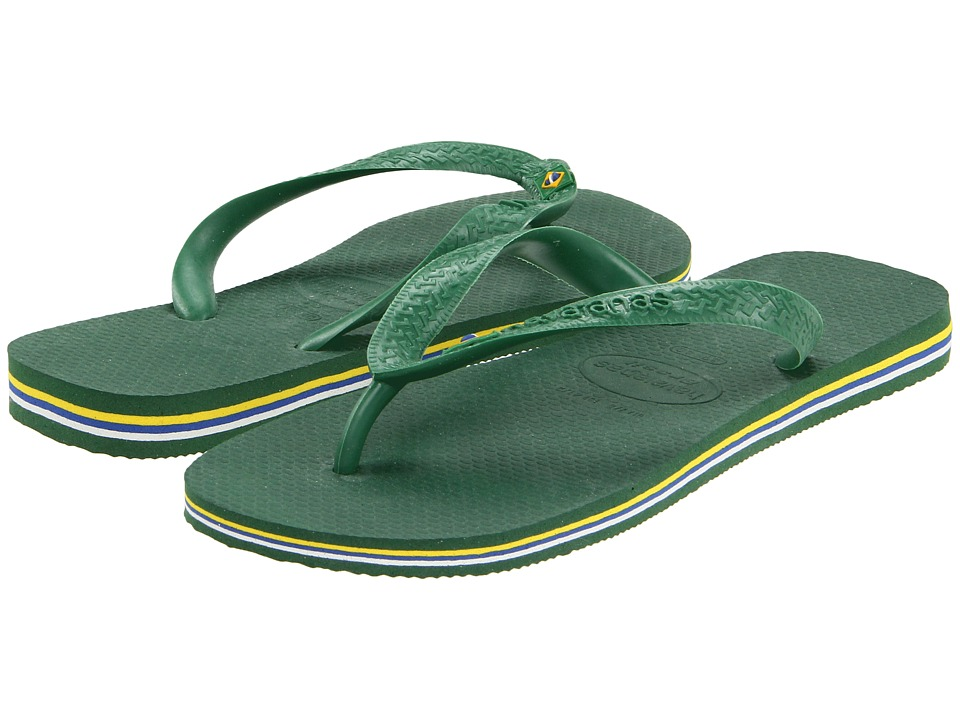 Havaianas Brasil Flip Flops Amazonia Mens Sandals