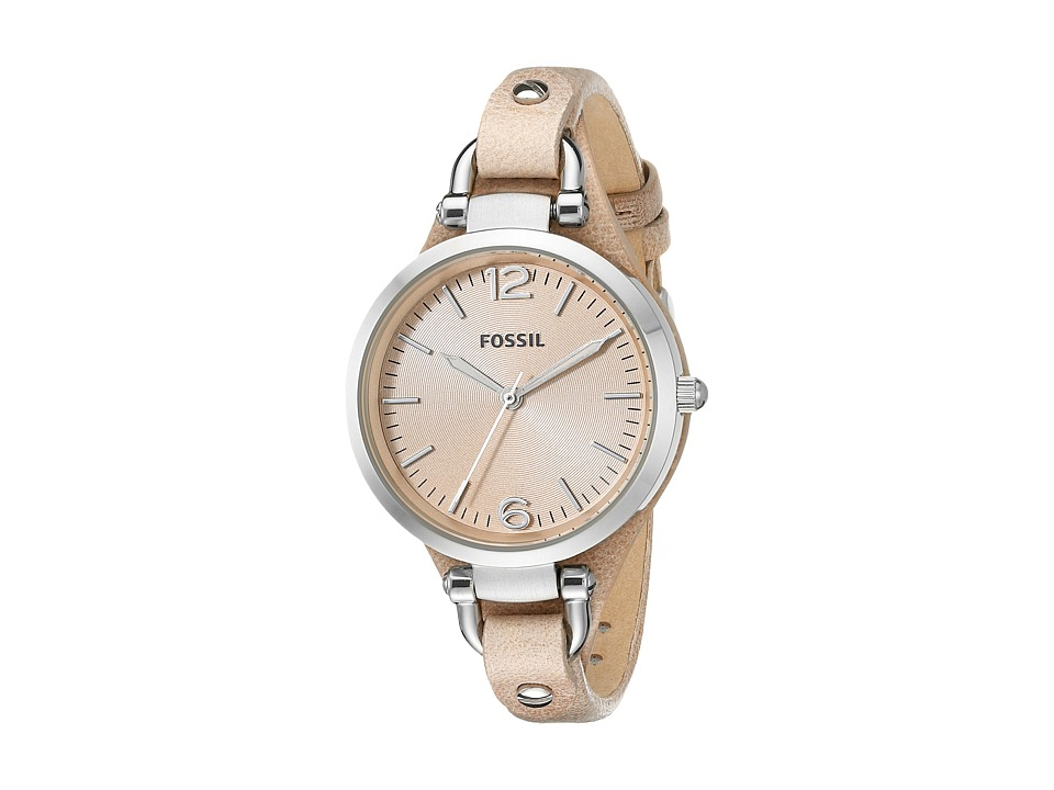 Fossil - Georgia ES2830 (Sand/Sand) Analog Watches
