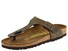 Birkenstock - Gizeh Sandal (Golden Brown Birko-Flor) - Footwear, Sandals, Womens, Wide Fit, Wide Widths