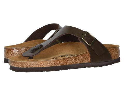 birkenstock metallic gizeh sandals