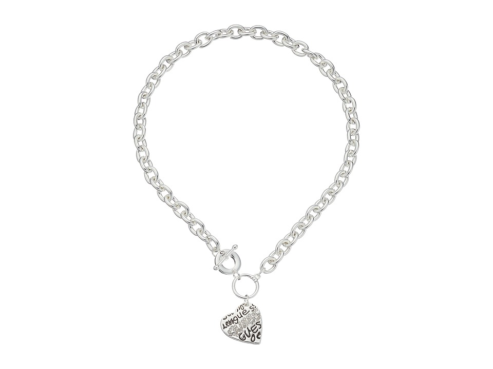 GUESS - 118362-21 (Silver) Necklace