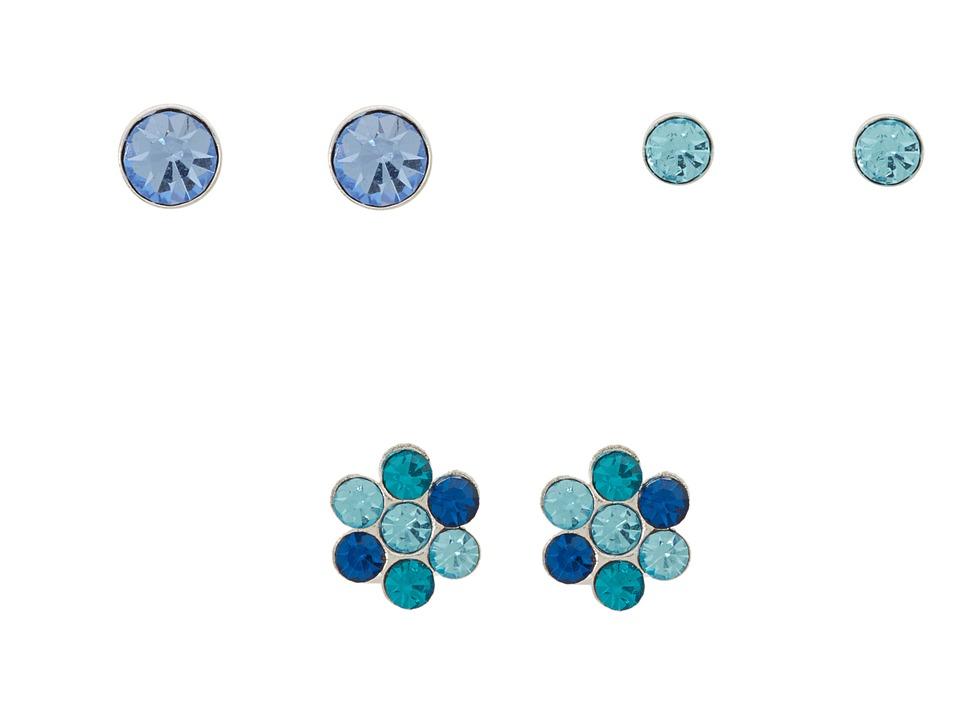 GUESS - 82075592 (Blue/Silver) Earring