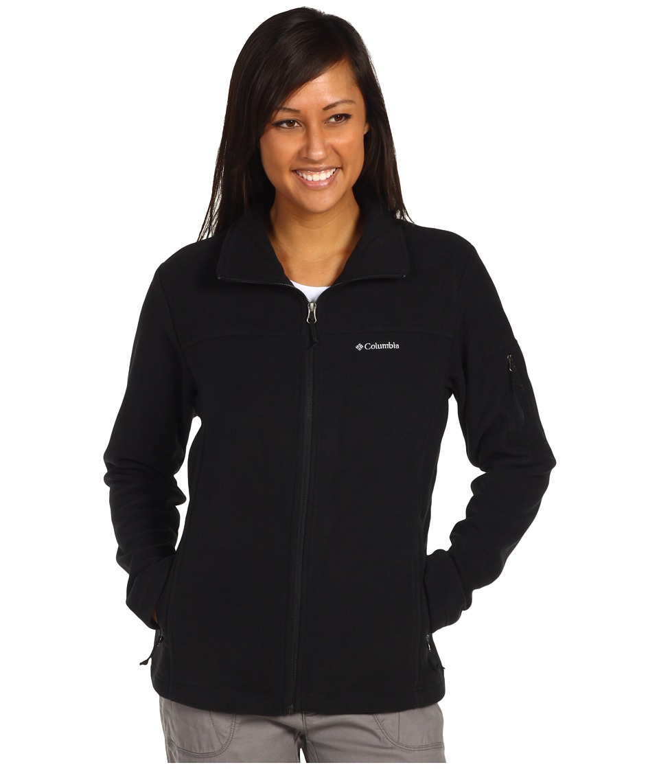 Columbia - Fast Trektm II Full-Zip Fleece Jacket (Black) Womens Coat