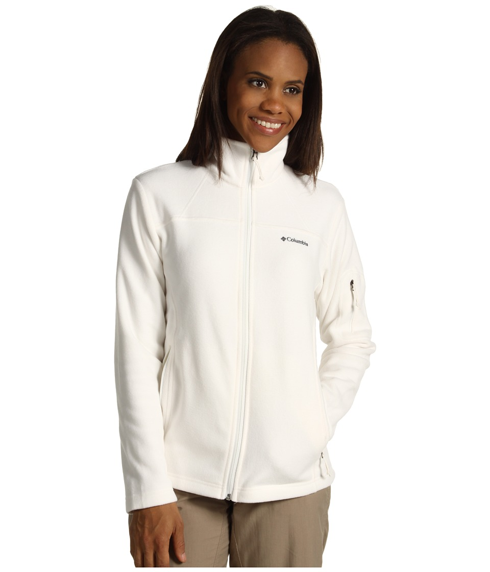 Columbia Fast Trek II Full-Zip Fleece Jacket (Sea Salt) Women