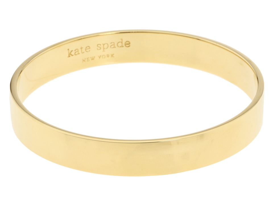 Kate Spade New York - Idiom Bangles Solid Gold (Gold) Bracelet