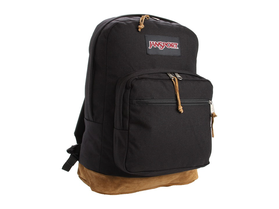 JanSport Right Pack Black Backpack Bags