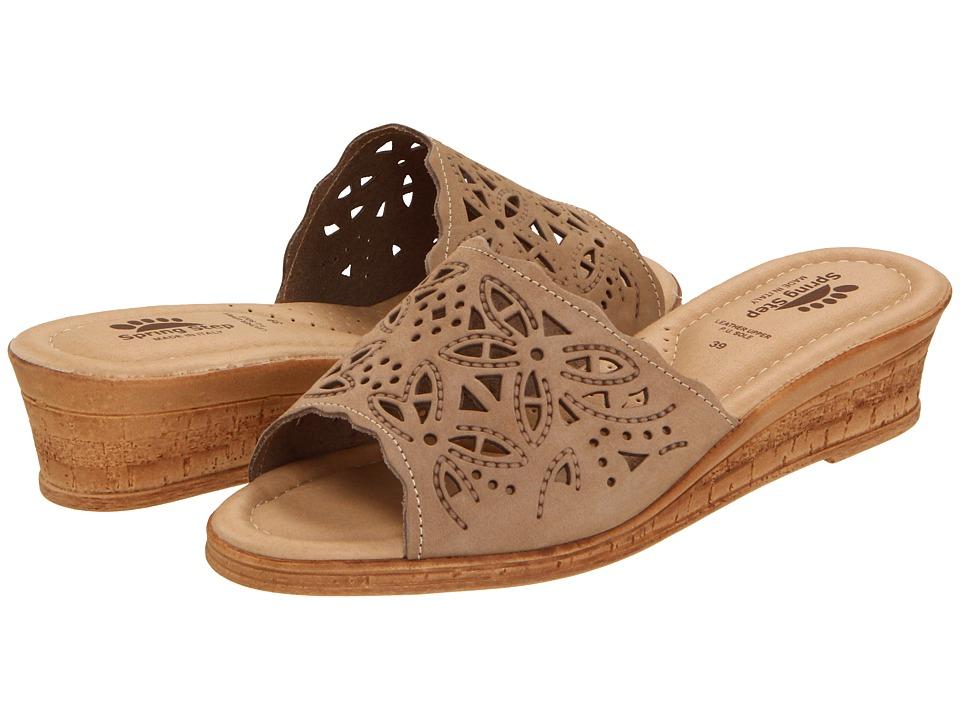 Spring Step Estella (Beige) Women's Wedge Shoes