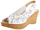 Spring Step - Abigail (White Leather)