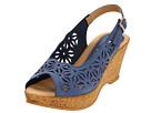 Spring Step - Abigail (Blue Nubuck)
