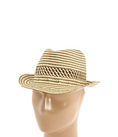 Echo Design - Graphic Striped Fedora